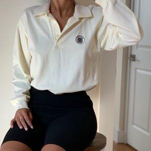 Vintage Versace Polo Long Sleeve